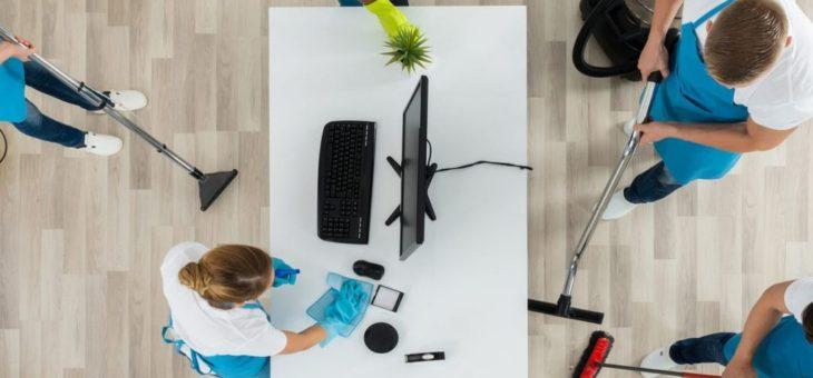 Pour des bureaux plus propres : confier la tâche à une entreprise