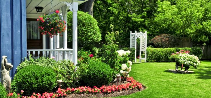 Je décore mon jardin